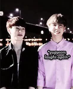 Watch and share Hyung And Maknae GIFs and Mark Tuan GIFs on Gfycat