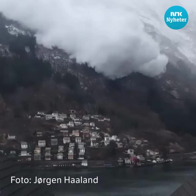 Odda avalanche