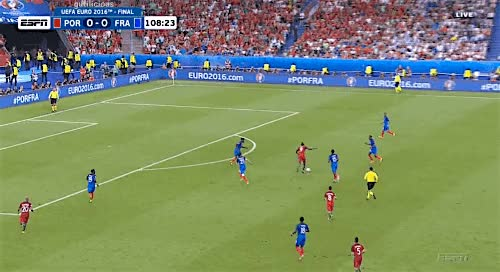 Watch and share 3109′ - Éder (assist By João Moutinho)Portugal Vs France - 10 July 2016 GIFs on Gfycat