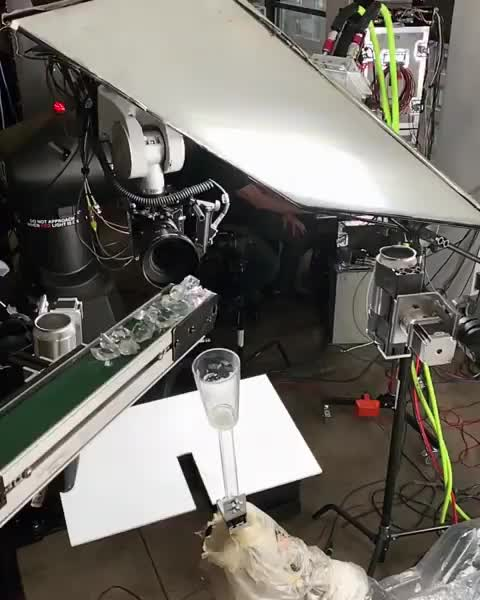 Behind the scenes of a coffee commercial GIFs