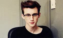 Watch and share Those Glasses Jfc GIFs and Troye Sivan GIFs on Gfycat