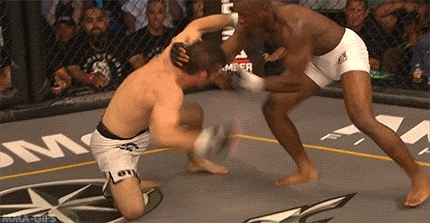 gif, joel scott, knee, knockout, ko, legacy fighting championship, lfc, martial arts, mixed martial arts, mma, sports, the demon, mma-gifs GIFs