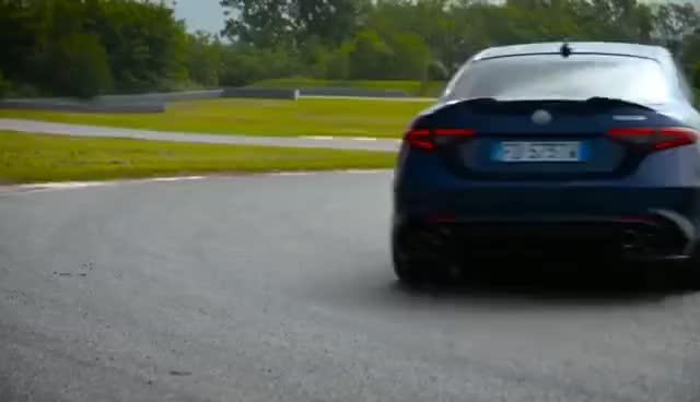 Watch and share NEW! Chris Harris Drives The Alfa Romeo Giulia Quadrifoglio - Chris Harris Drives - Top Gear GIFs on Gfycat
