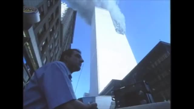 "Watch 18 Views of ""Plane Impact"" in South Tower 