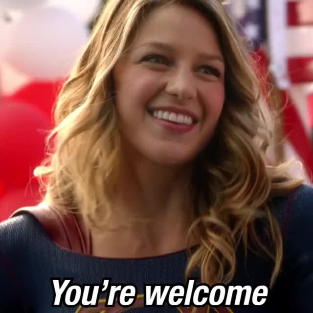 Watch and share Supergirl 2x03 - 01 - You're Welcome GIFs by Crankrune on Gfycat