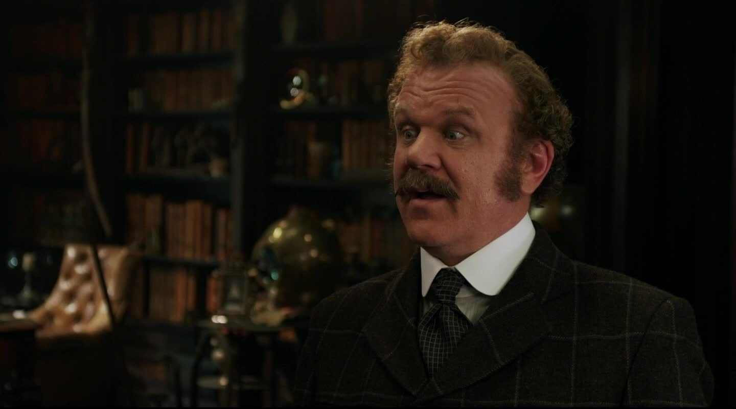 check it out, check this out, happy, holmes & watson, holmes and watson, john watson, pipe, sherlock holmes, this, will ferrell, This! GIFs