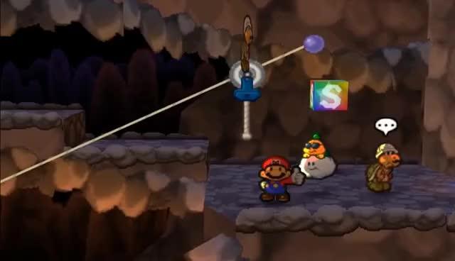 Top 10 Cutscene Glitches in Paper Mario 64 GIF | Find, Make & Share