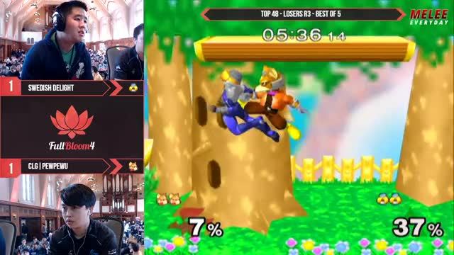 Watch and share MeleeEveryday Playing Super Smash Bros. Melee - Twitch Clips GIFs by subjectivef on Gfycat