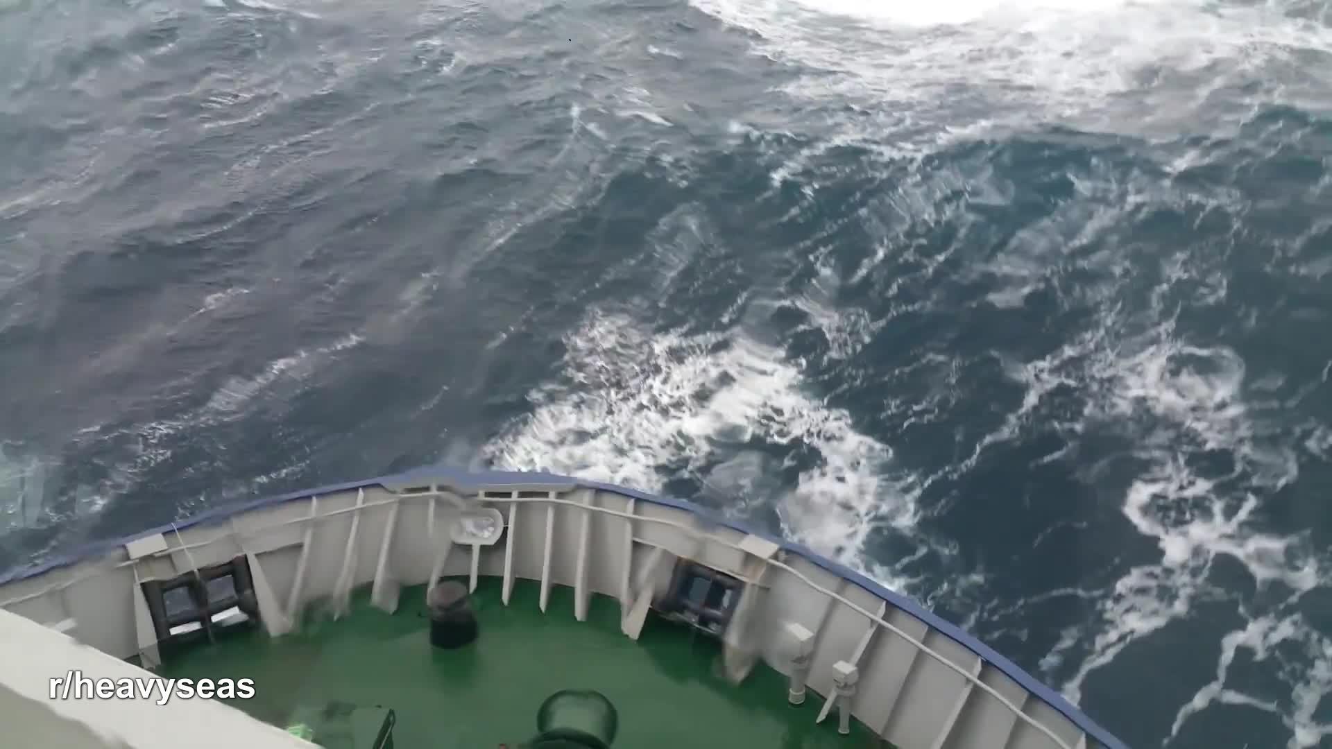 Supply boat, North Sea GIFs