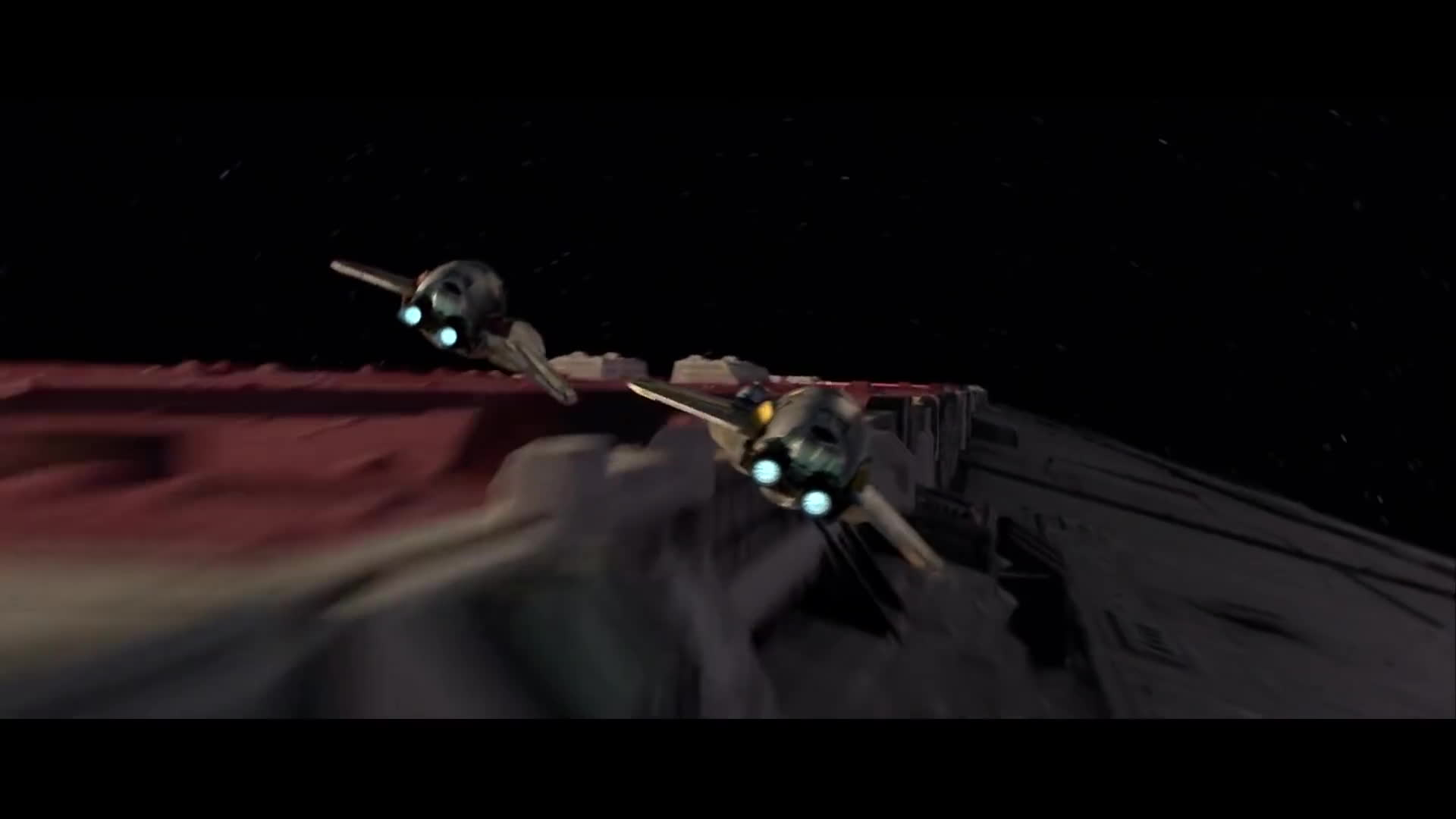 Star Wars Revenge Of The Sith Opening Scene 1080 Hd Gif By Cracklo Gfycat