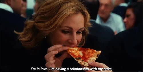 Watch pizza pizza GIF on Gfycat. Discover more chick flick, eat pray love, girly movie GIFs on Gfycat