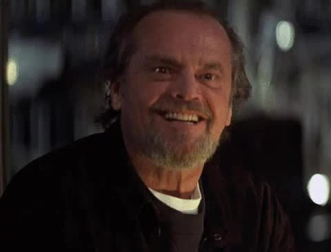 Watch and share Jack Nicholson GIFs and Celebs GIFs by spondilita on Gfycat
