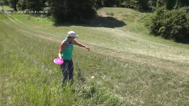 Watch Round Two 2018 Discraft's Great Lakes Open - Sarah Hokom hole 17 GIF by Benn Wineka UWDG (@bennwineka) on Gfycat. Discover more dgpt, disc golf, disc golf pro tour GIFs on Gfycat