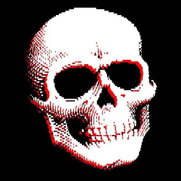 Watch and share 8 Bit Skull GIFs on Gfycat