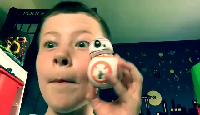 Watch and share Star Wars BB8 Pop Figure Unboxing GIFs on Gfycat