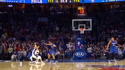 Watch Joel Embiid and J.J. Redick — Philadelphia 76ers GIF by Off-Hand (@off-hand) on Gfycat. Discover more 102018 GIFs on Gfycat