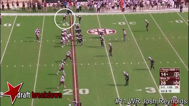 Watch and share WR Josh Reynolds Vs Mississippi State 2016 GIFs on Gfycat