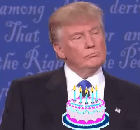 Watch and share Birthday Cake GIFs and Candles GIFs on Gfycat