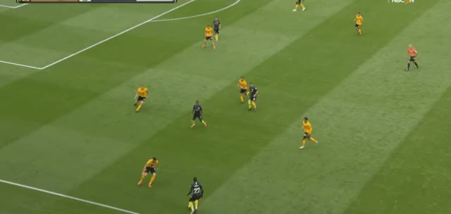 Watch and share Mendy Long Pass Vs Wolves 18-19 GIFs by FIFPRO Stats on Gfycat