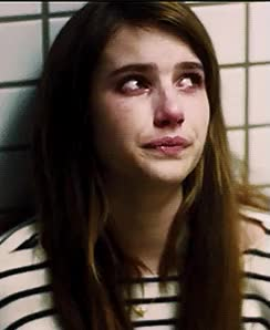 Watch and share Emma Roberts GIFs and Sad Face GIFs on Gfycat