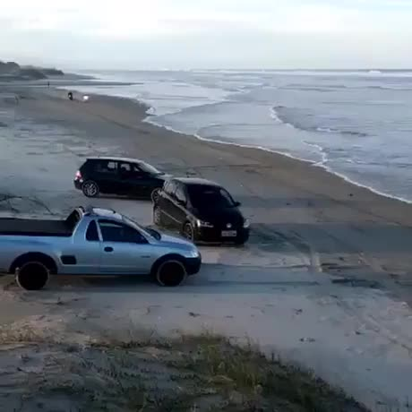 Watch and share Riding-through-the-ocean GIFs on Gfycat