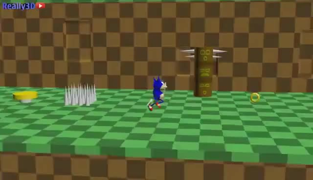 Watch and share Realistic 3D Sonic GIFs on Gfycat