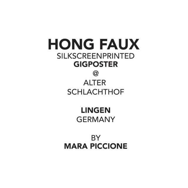 Hong Faux
