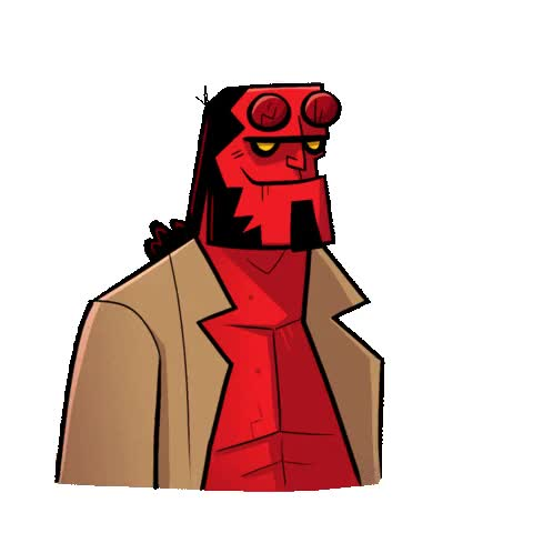 Watch and share Dark Horse Comics GIFs and Hellboy Movie GIFs by Hellboy on Gfycat