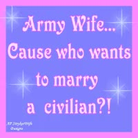 Watch and share Army Wife GIFs on Gfycat