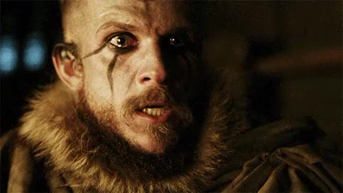 Watch and share Vikings Spoilers GIFs and Gustaf Skarsgård GIFs on Gfycat