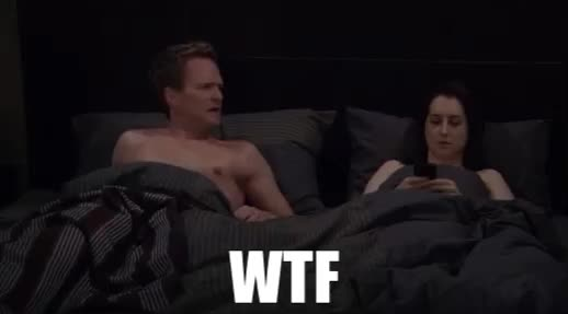 funny, himym, how i met your mother, what, wtf, WTF Barney Stinson GIFs