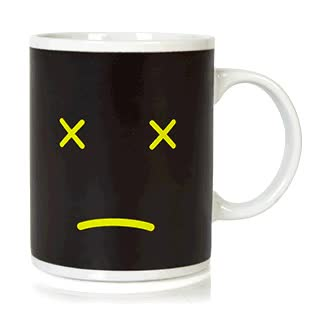 Watch and share 350ML Ceramic Morning Coffee Smile Face Color Changing Mug GIFs on Gfycat