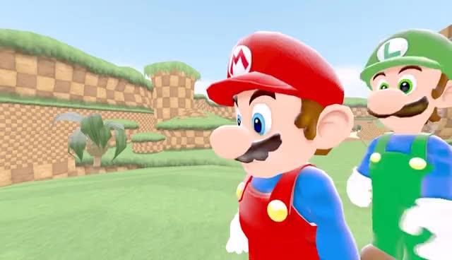 SFM, Hey Mario GIFs