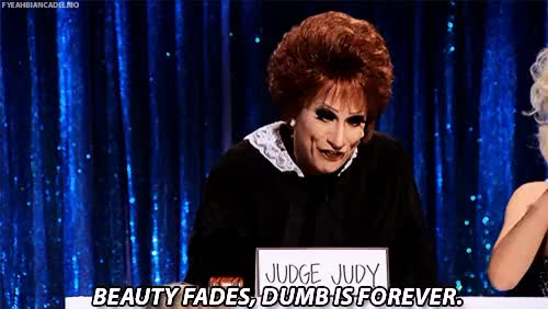 Watch and share Bianca Del Rio GIFs and Clown Realness GIFs on Gfycat