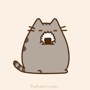 Watch and share Pusheen, Sushi, Cat GIFs on Gfycat