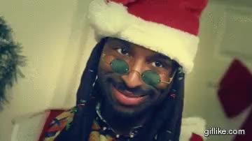 Rasta Claus everyone