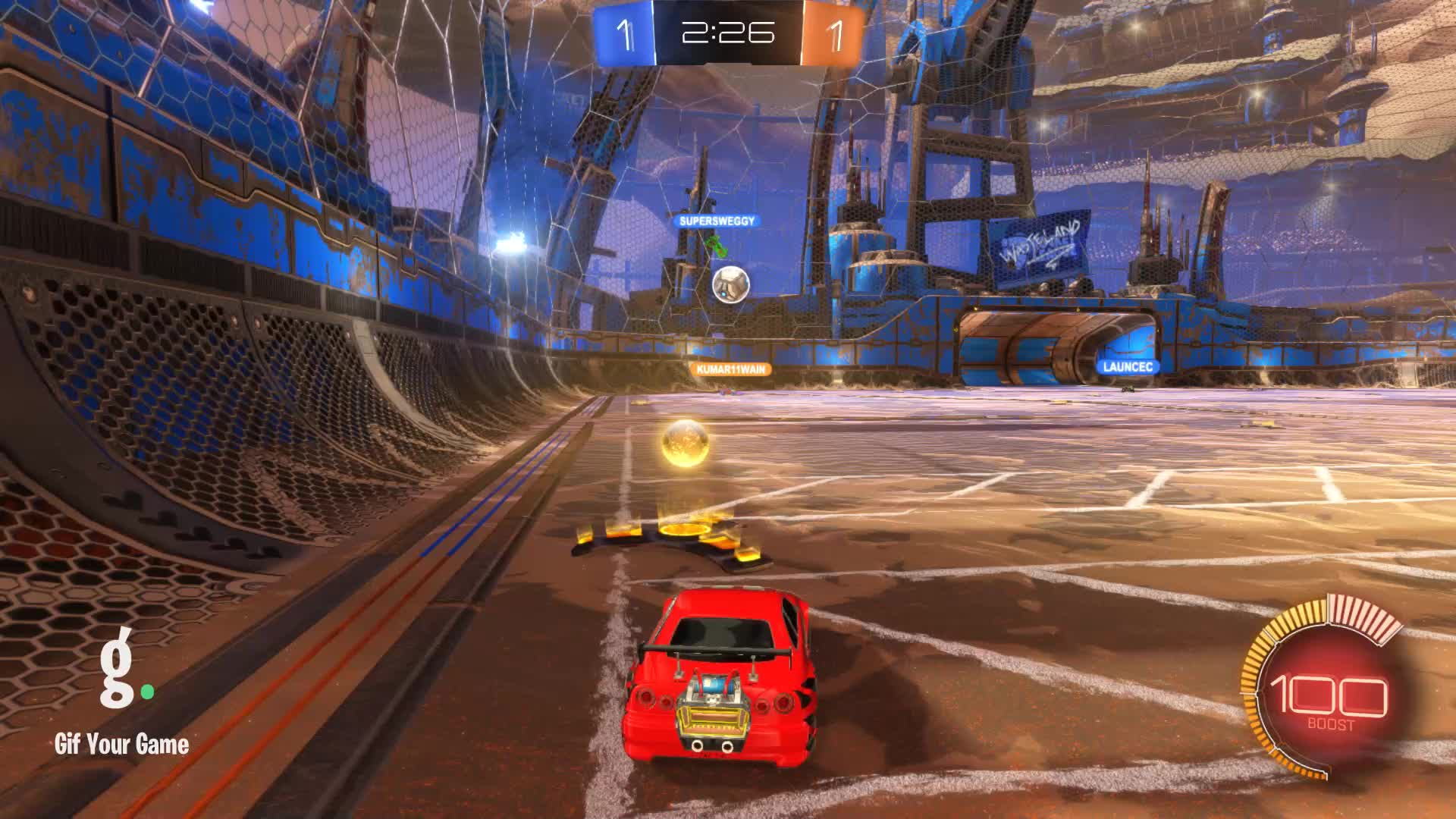Assist, Gif Your Game, GifYourGame, Rocket League, RocketLeague, datboi, Assist 1: datboi GIFs