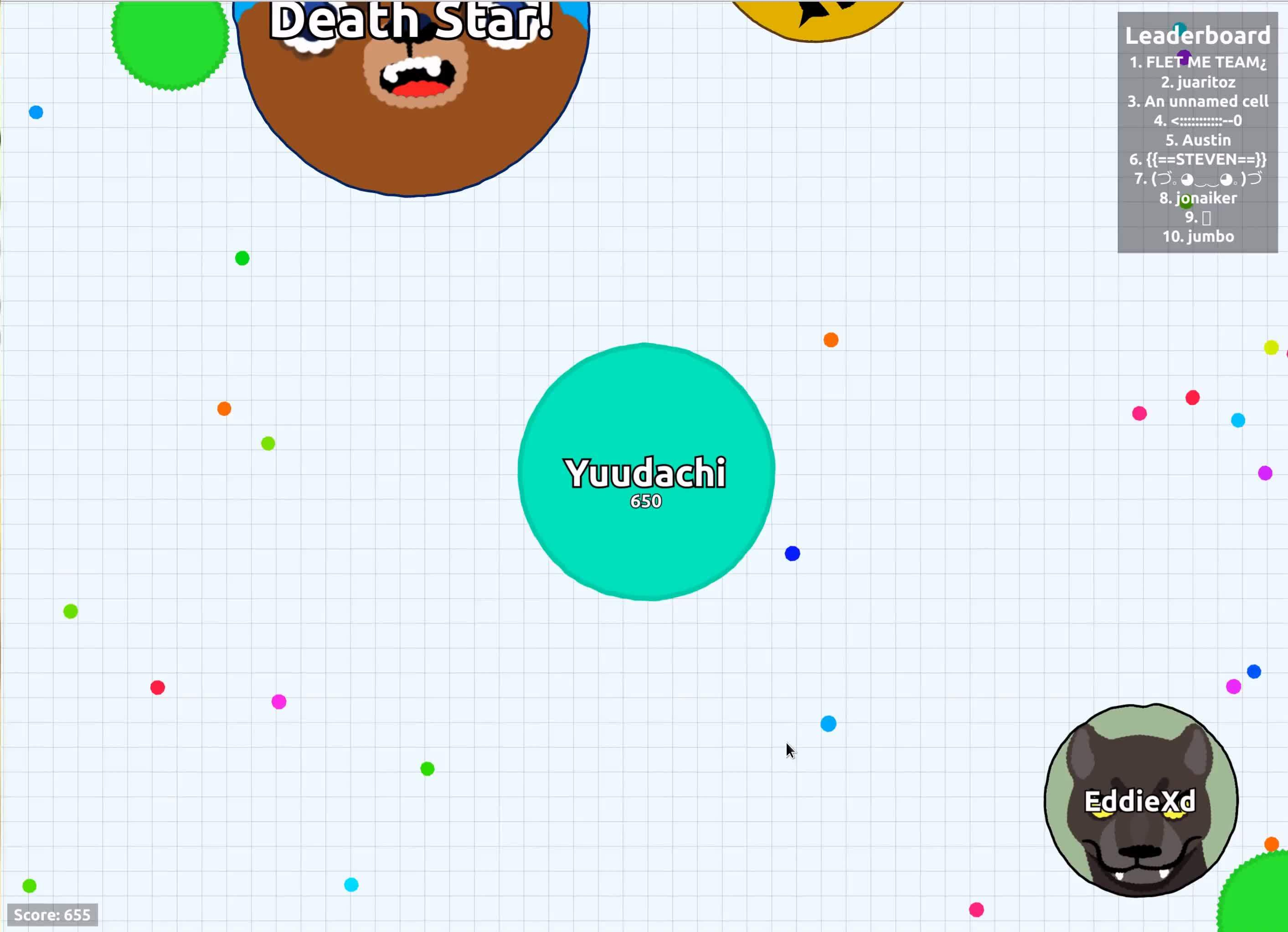 agario, Killing a team before they become a problem GIFs