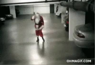 Watch Santa got into the eggnog : WastedGifs GIF on Gfycat. Discover more related GIFs on Gfycat