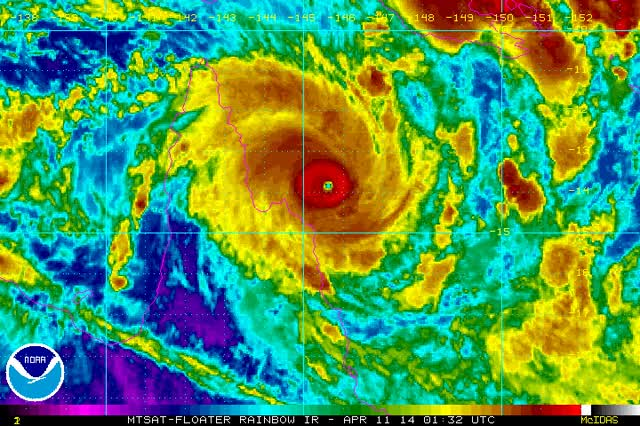Watch At 1pm EST Friday, Severe Tropical Cyclone Ita was situated over the GIF on Gfycat. Discover more related GIFs on Gfycat
