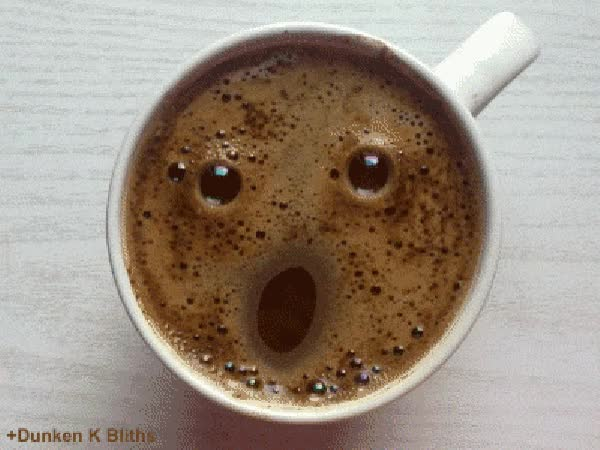 Watch and share Coffee Face GIFs on Gfycat