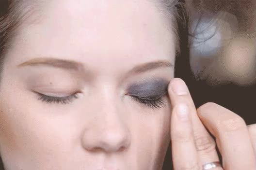 Watch and share Blue Eyeshadow GIFs on Gfycat