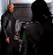 Watch and share Nick Fury GIFs on Gfycat