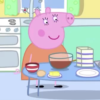 about, cartoon, cook, cute, don't, forget, it, it's, mind, mom, mother, never, nevermind, no, ok, okay, peppa, pig, problem, worry, Mummy pig - Nevermind GIFs