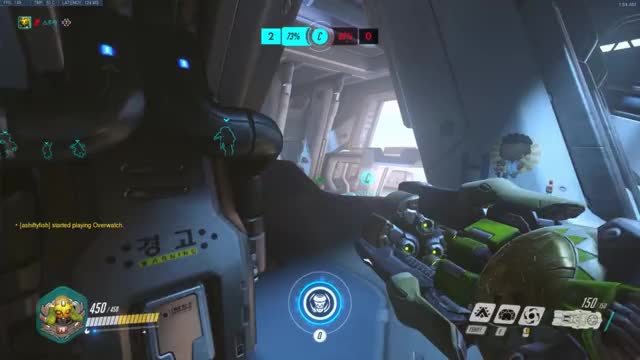 Watch and share Orisa Unlucky Shield Busan GIFs by Spooka on Gfycat