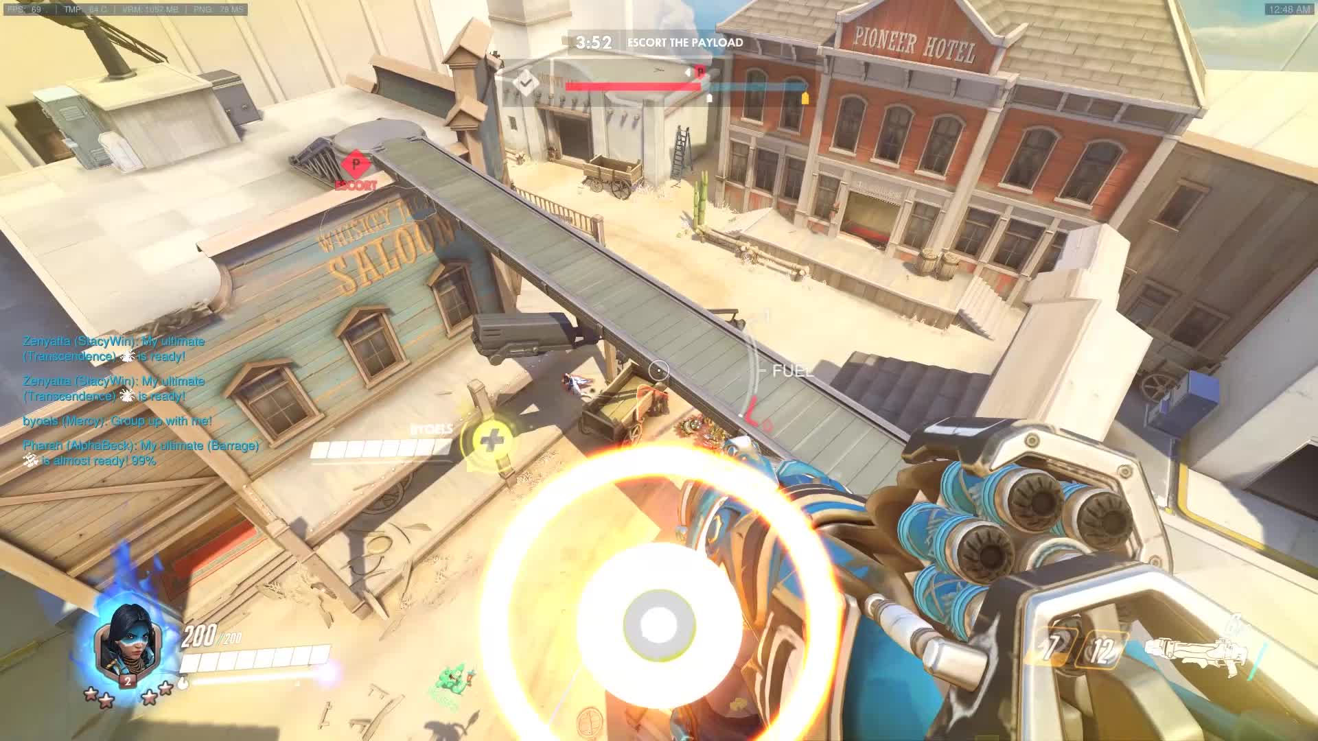 justice rains from above, overwatch, pharah, potg, quintuple, pharah quintuple kill GIFs