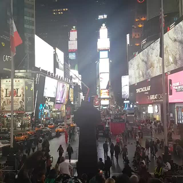 Watch and share Times Square GIFs and New York GIFs by Harish Persad on Gfycat