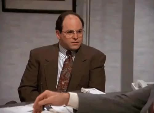 Watch and share George Costanza GIFs and Jason Alexander GIFs by efitz11 on Gfycat