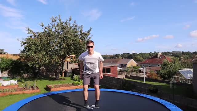 Watch and share Sunglasses GIFs and Trampoline GIFs by ADAPT Network on Gfycat