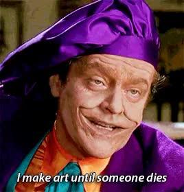 Watch and share Jack Nicholson GIFs and Batman 1989 GIFs on Gfycat